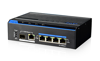 Industrial 4 Ports PoE Fast Ethernet Switch