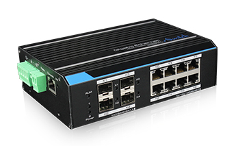 8 Ports Industrial Full Gigabit Managed Switch