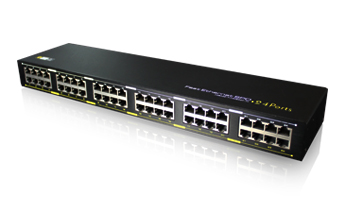 24 Ports Fast Ethernet Surge Protecter