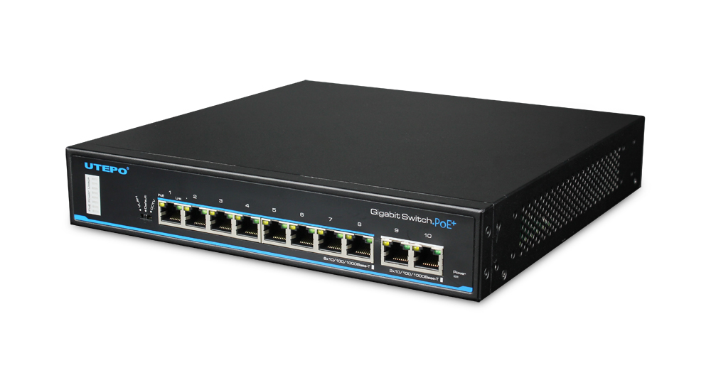 8 Ports Gigabit PoE Ethernet Switch