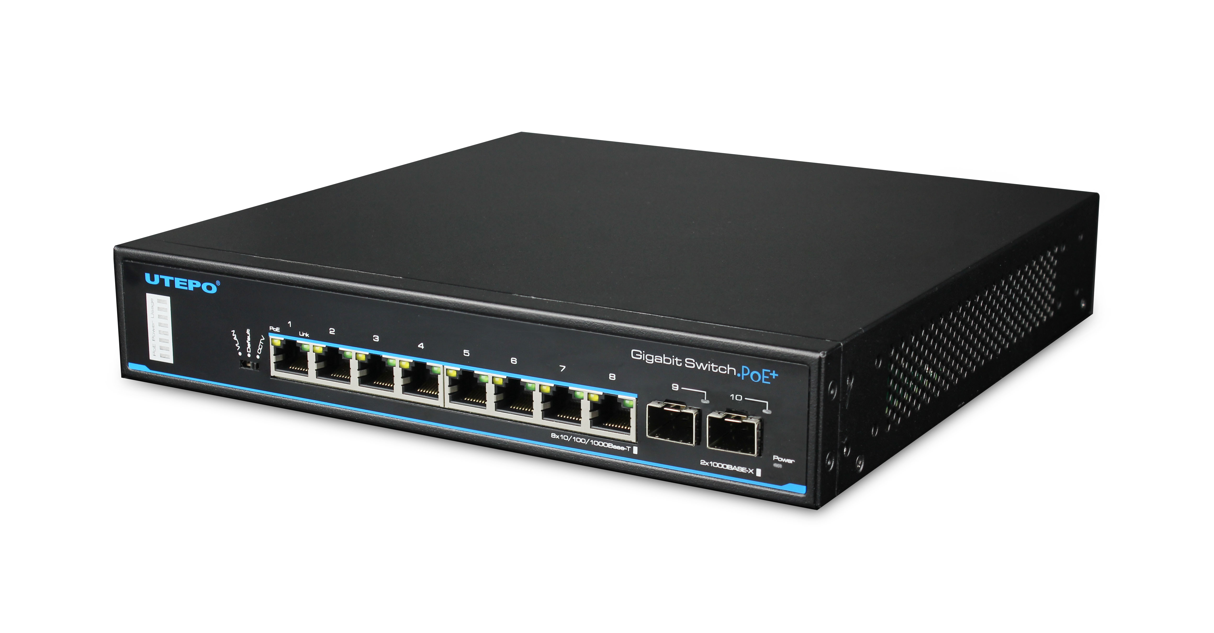 8 Ports Gigabit PoE Switch