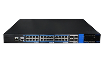 24 ports full gigabit PoE switch(One-key smart L2-managed)