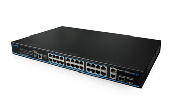 24 Ports Gigabit PoE switch