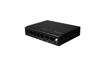 6 Ports 10/100Mbps Unmanaged PoE Switch