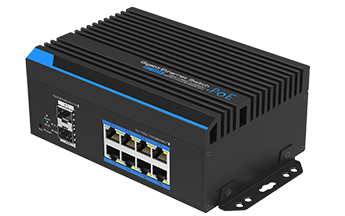 8-Port Gigabit Managed BT PoE Switch with 2 SFP Slots