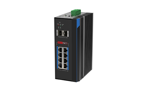 8-Port BTPoE Gigabit + 2-Port SFP L2 Managed Ethernet Switch