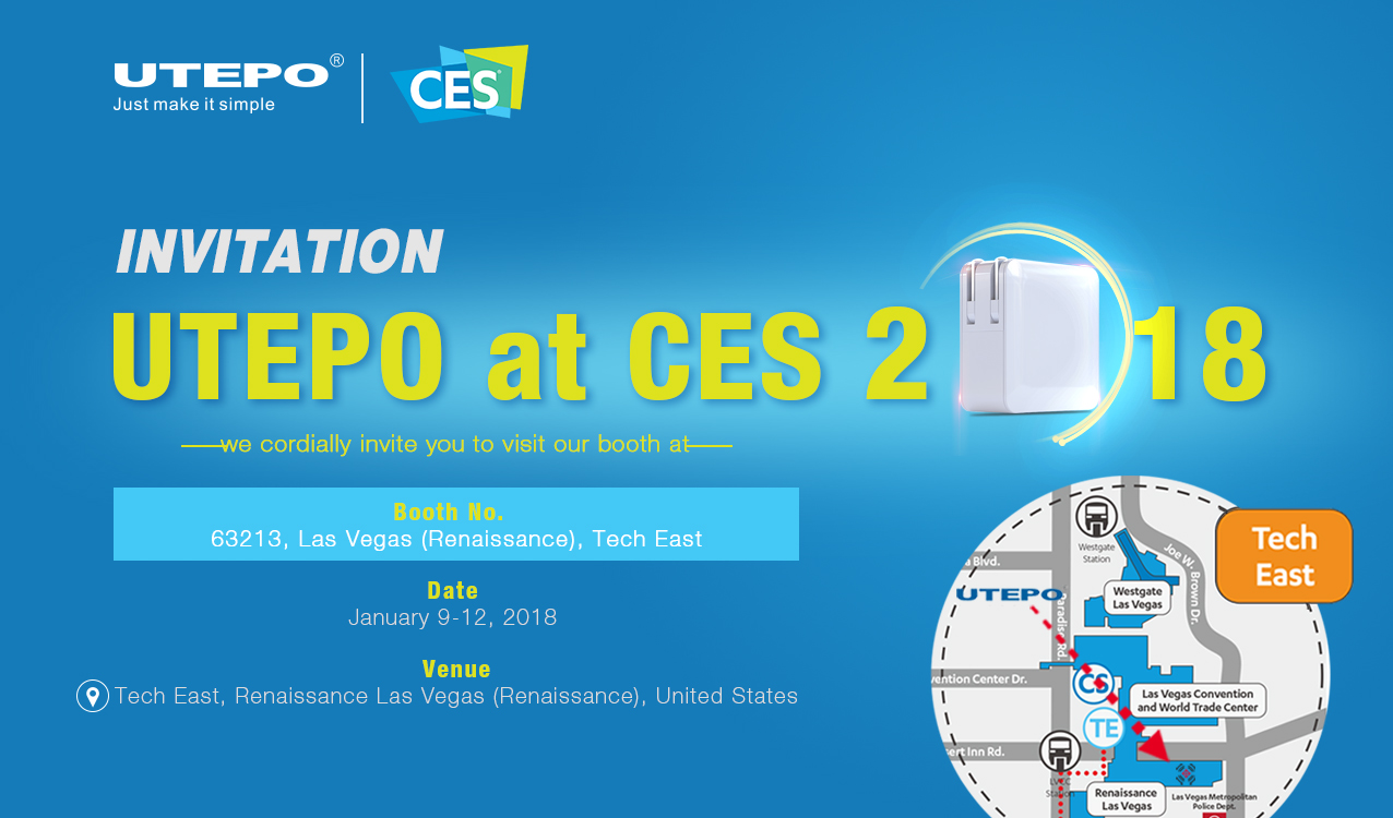 INVITATION - UTEPO at CES 2018