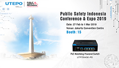 Invitation - UTEPO at Public Safety Indonesia Conference & Expo 2019
