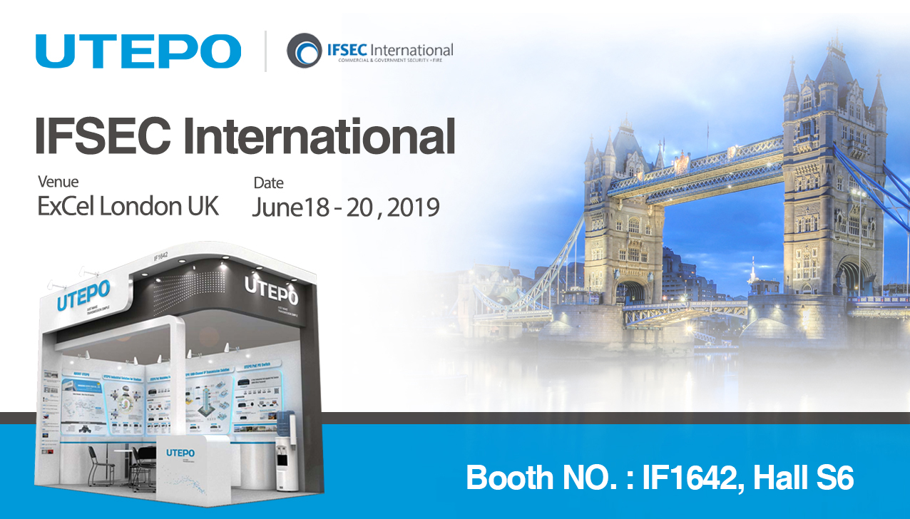 UTEPO Invitation for IFSEC International 2019