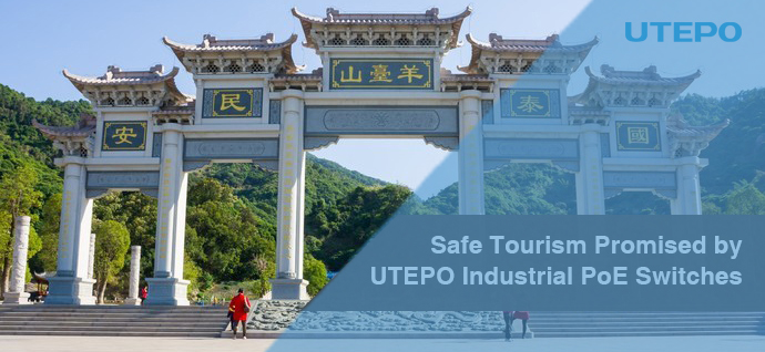 Safe Tourism Promised by UTEPO Industrial PoE Switches